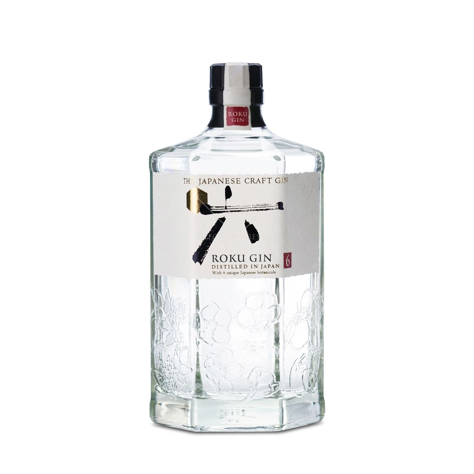 ROKU GIN THE JAPANESE GIN 43% VOL. 0,7L
